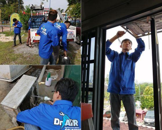 Aircon Service in Kuala Lumpur and Selangor Malaysia - Dr Air